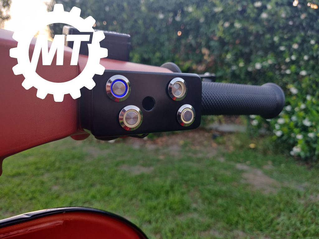moped technologies, devioluci custom per vespa px