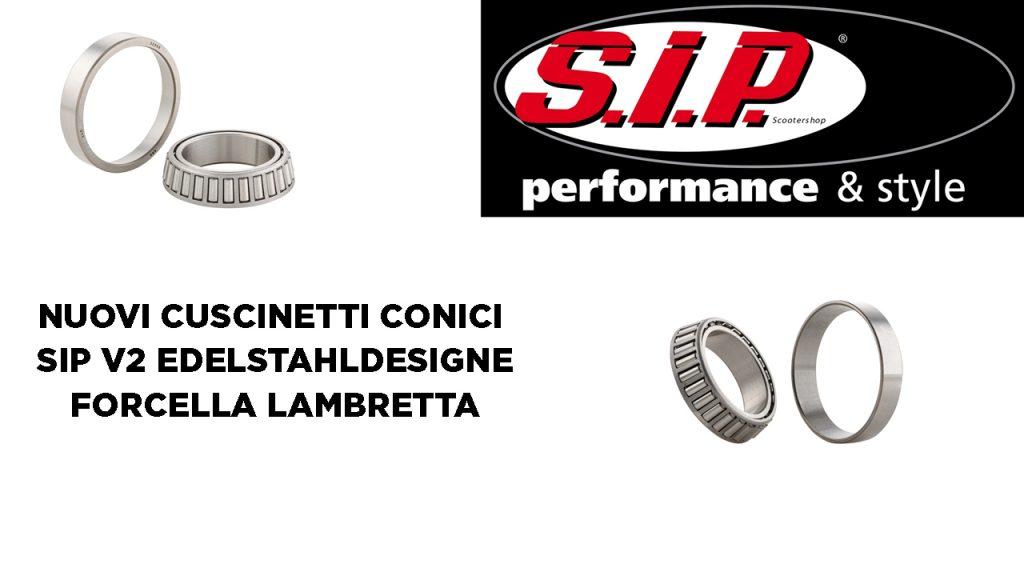 Cuscinetti Conici SIP V2 Lambretta