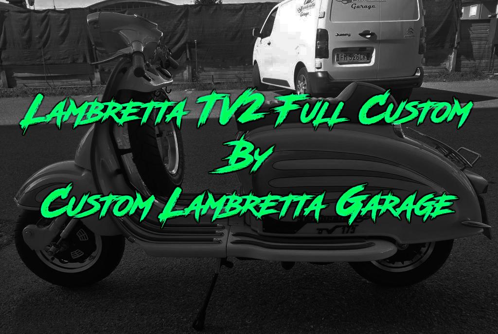 Lambretta TV2 full custom