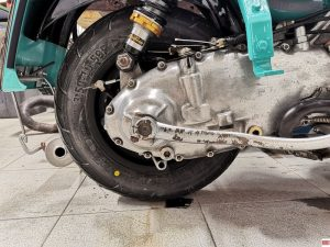 manutenzione scooter d'epoca