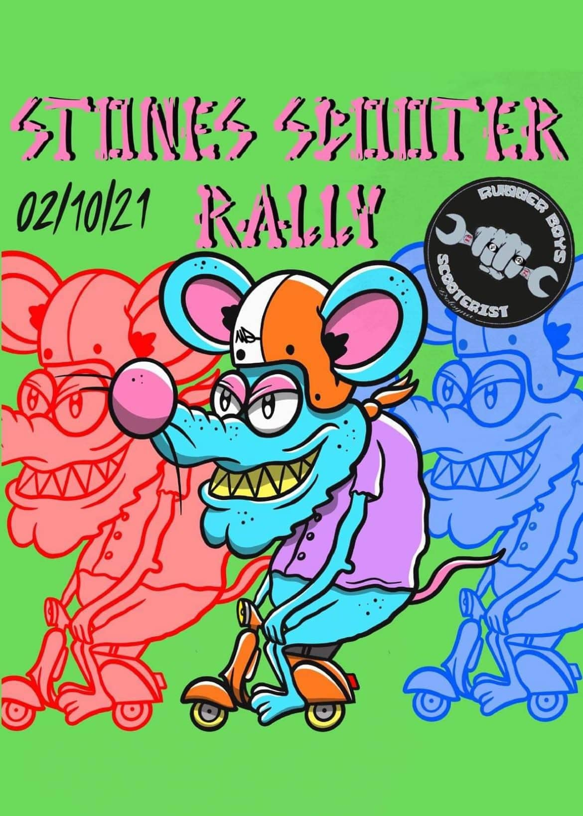 stoner scooter rally